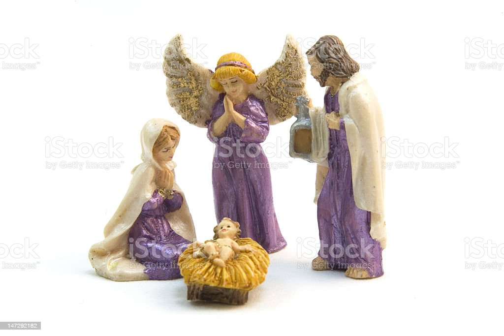 Nativity Scene royalty-free stock photo