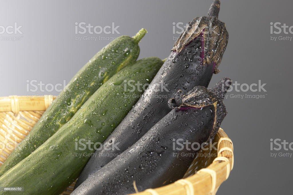 Natsuno vegetables stock photo