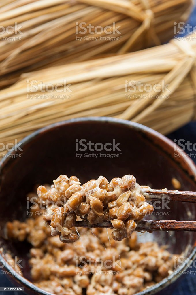 Natto stock photo