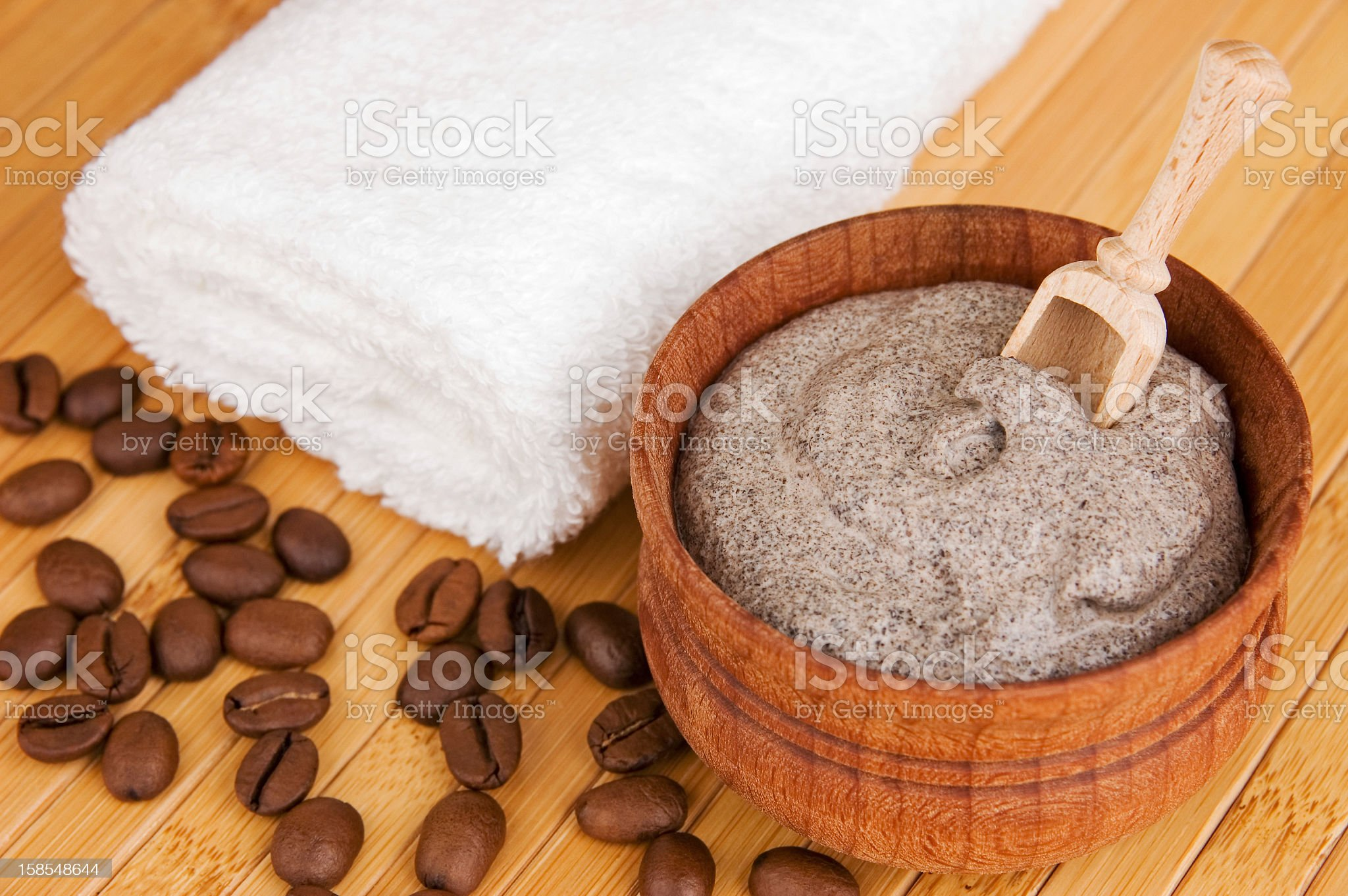 Natural and homemade cosmetics for a soothing spa royalty-free stock photo