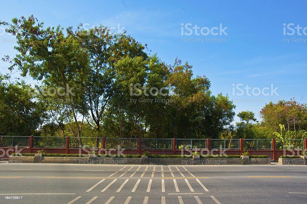 natural and railroad royalty-free stock photo