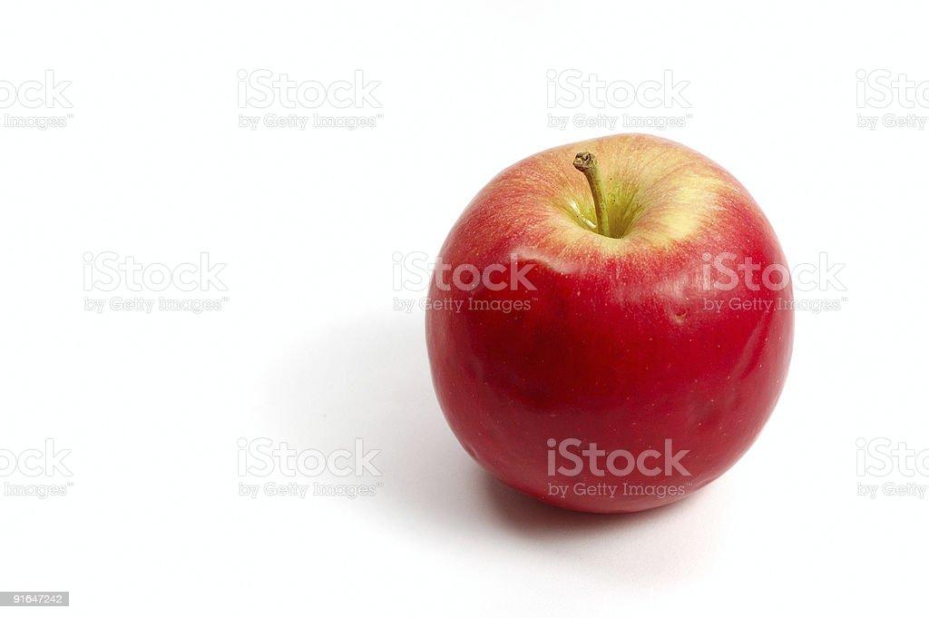 Natural apple royalty-free stock photo