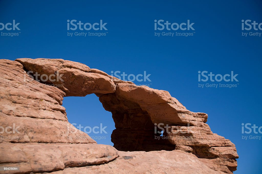 natural arch royalty-free stock photo