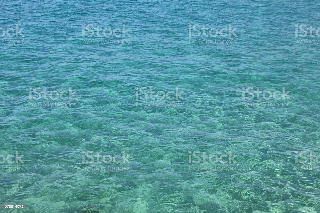Natural background of clear sea water stock photo