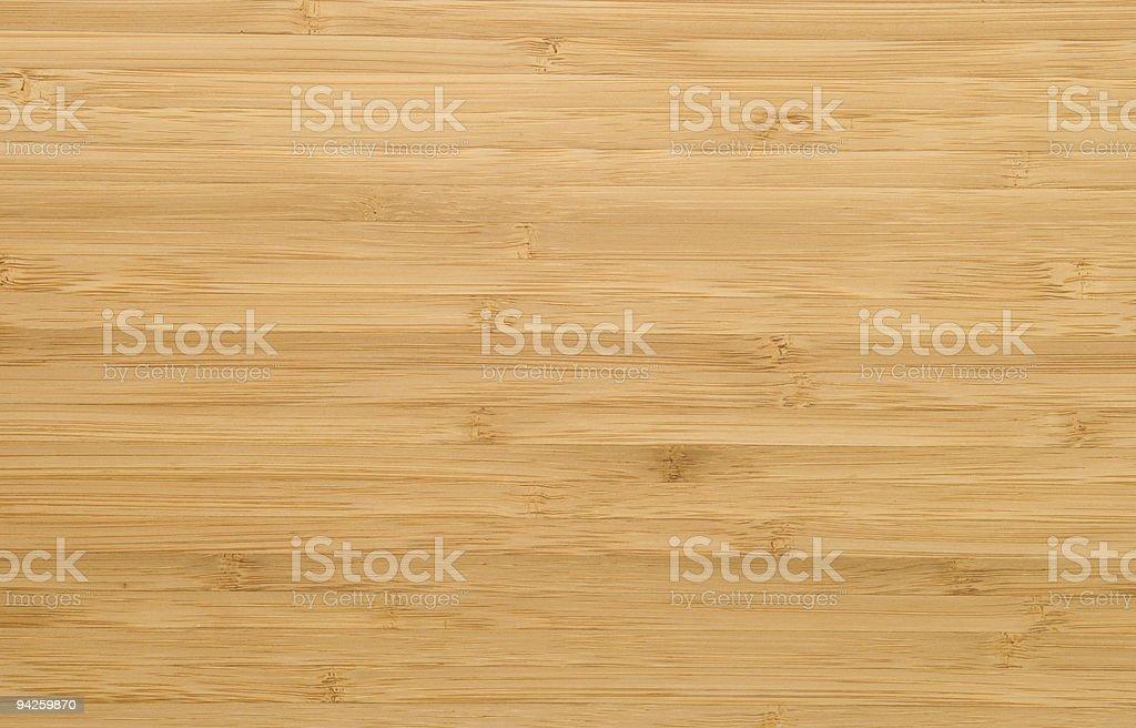 Natural bamboo plank stock photo