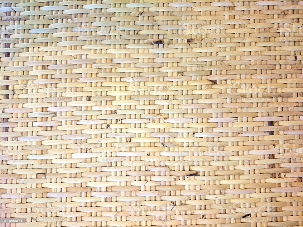 Natural Basket Weave Background stock photo
