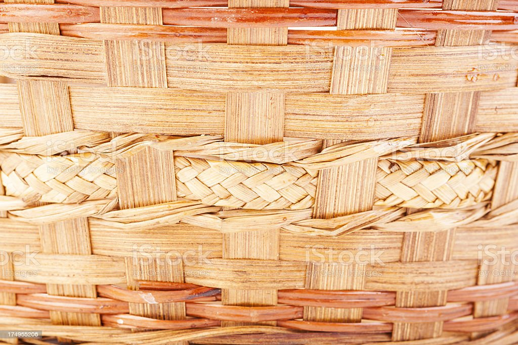 natural basket weave texture. royalty-free stock photo