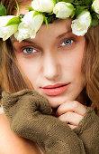 natural beauty female portrait