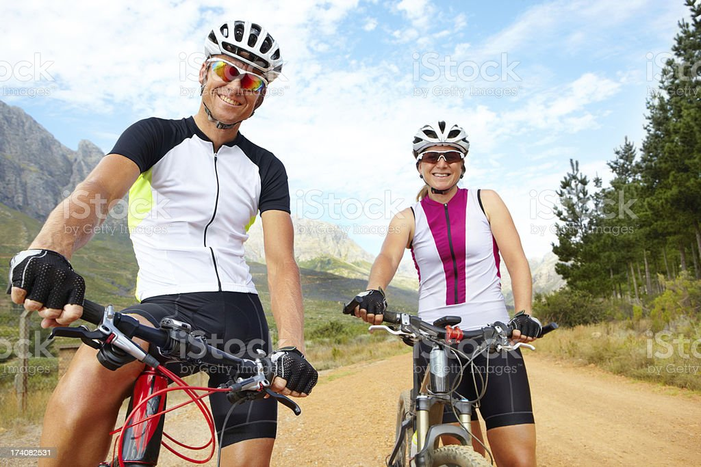 Natural beauty, fresh air and fitness royalty-free stock photo