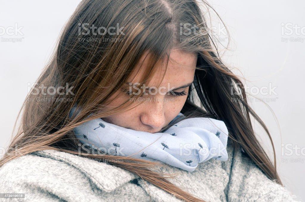 Chica de belleza Natural foto de stock libre de derechos