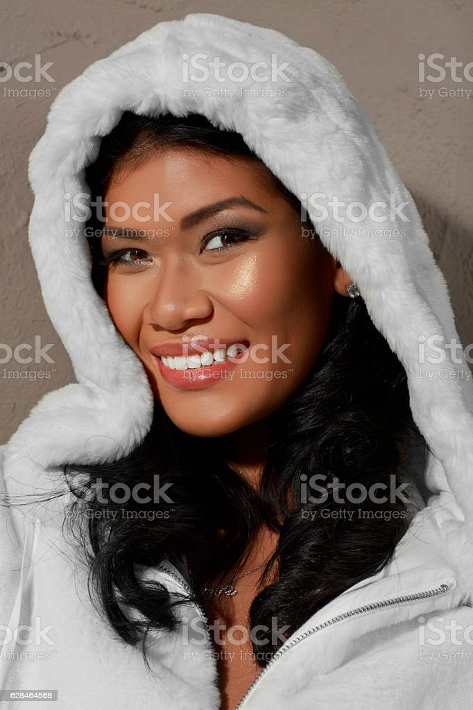 Natural Beauty Portrait  Beautiful Young Women Casual Lifestyles stock photo