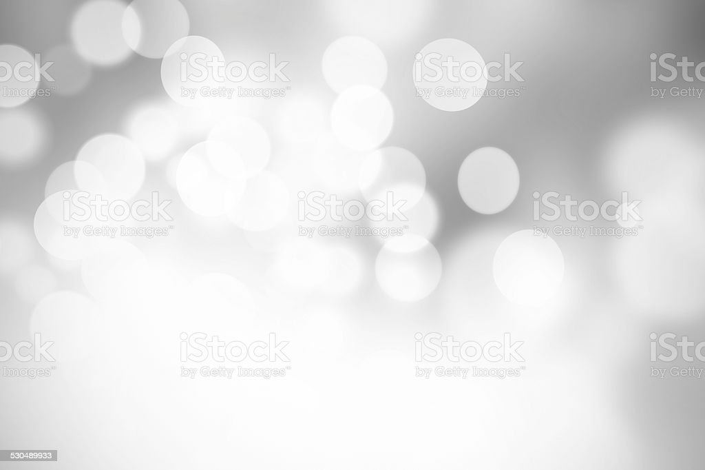 Natural black and white blurred background, bokeh stock photo