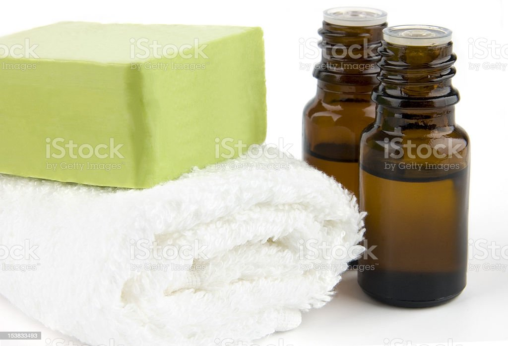 Natural body care stock photo