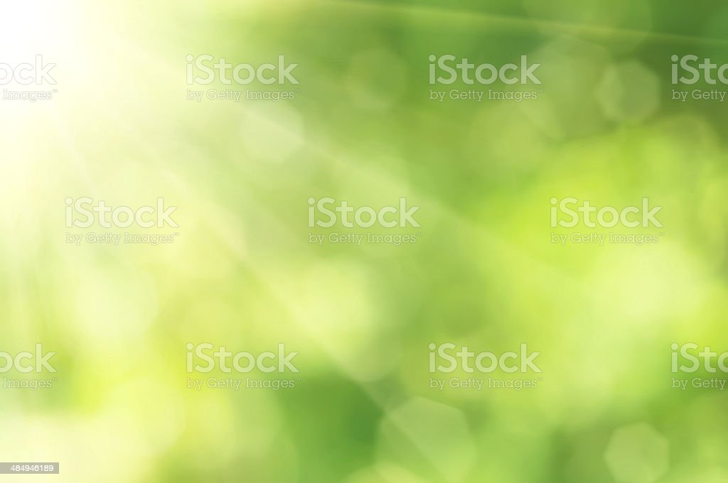 Natural bokeh stock photo