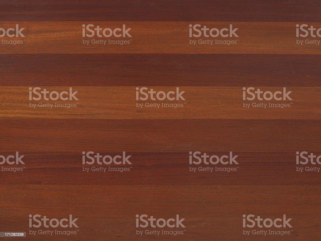 Natural Brazilian Cherry floor stock photo