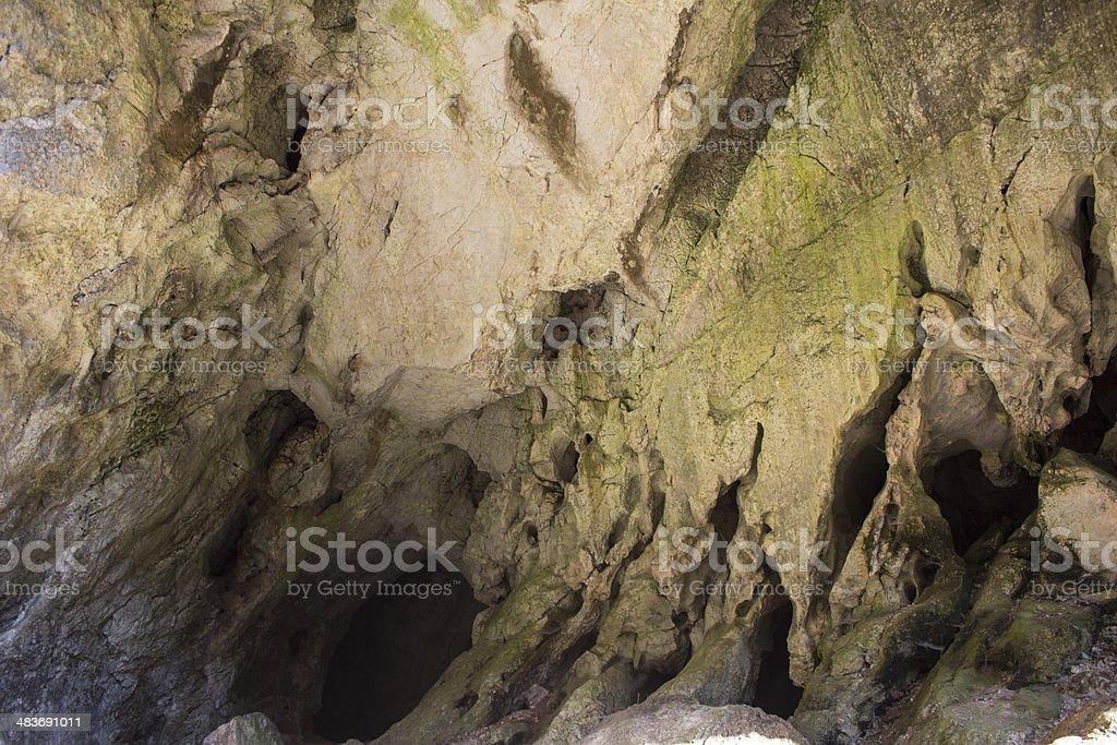 natural bridge and cave entrance royalty-free stock photo
