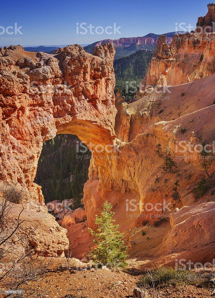 Natural Bridge, Bryce Canyon royalty-free stock photo