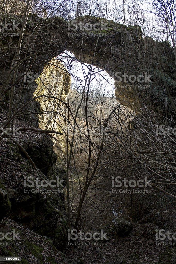 natural bridge royalty-free stock photo