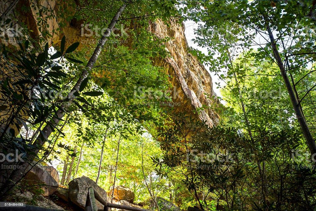Natural Bridge stock photo