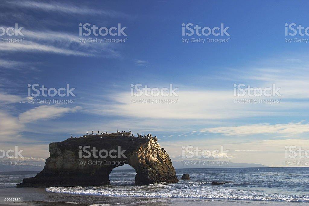 Natural Bridges, Ca stock photo