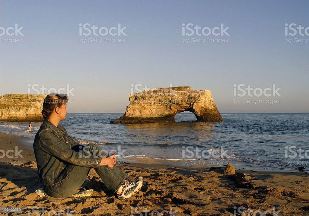 CA - Natural Bridges royalty-free stock photo