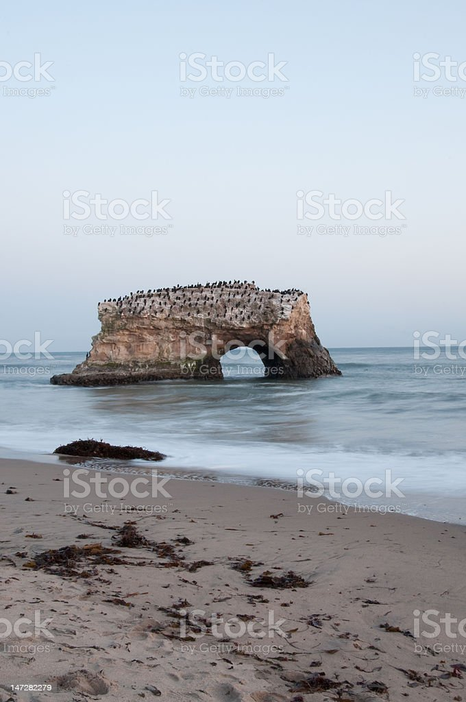 Natural Bridges Santa Cruz stock photo