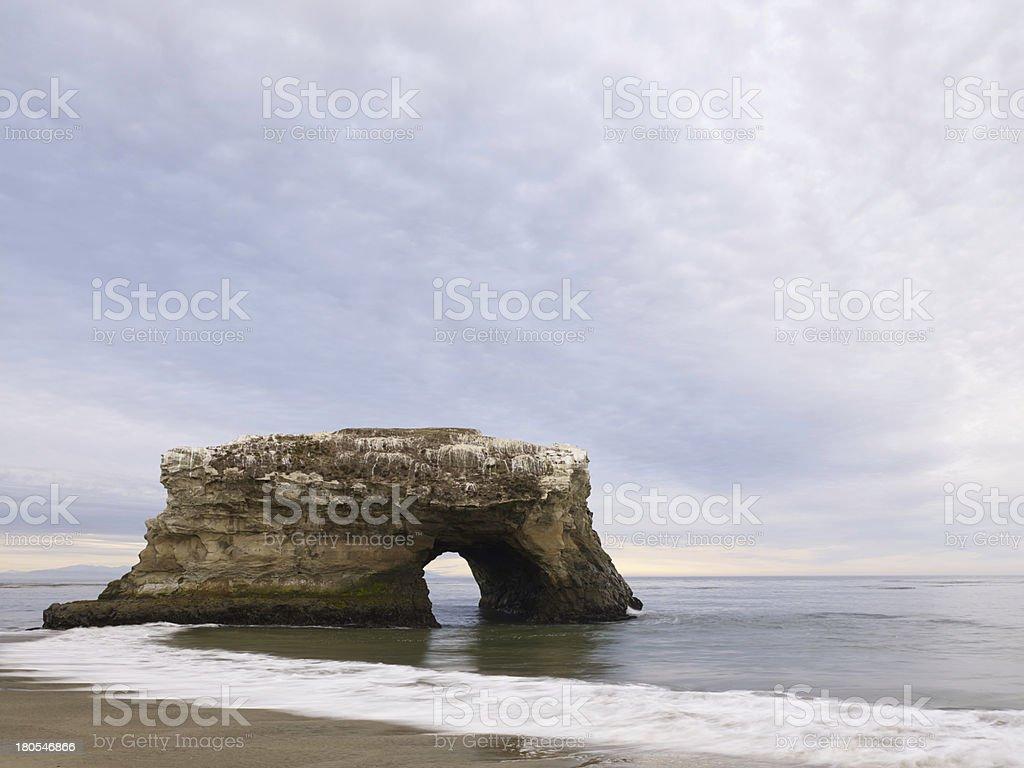 Natural Bridges State Beach, Santa Cruz, California stock photo
