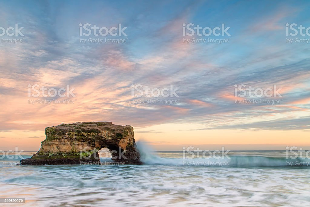 Natural Bridges State Park stock photo