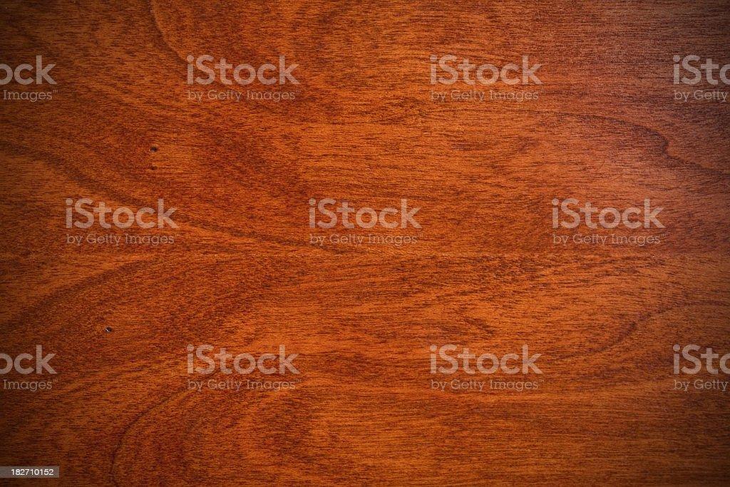 Natural Cherry Hardwood Grain Background Texture stock photo