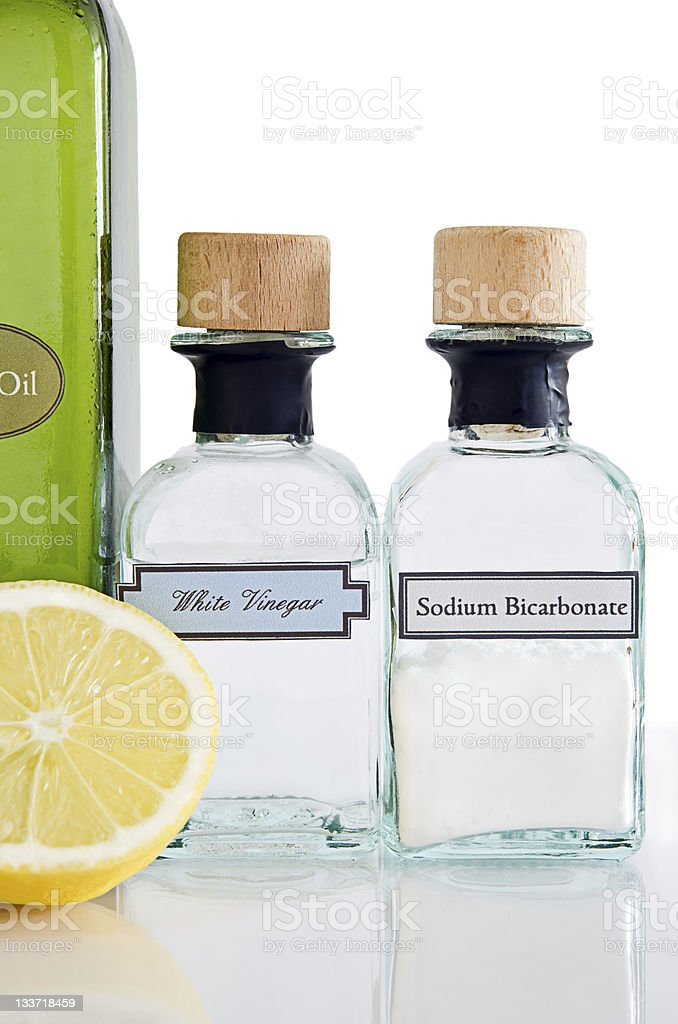 Natural Cleaning Products stock photo