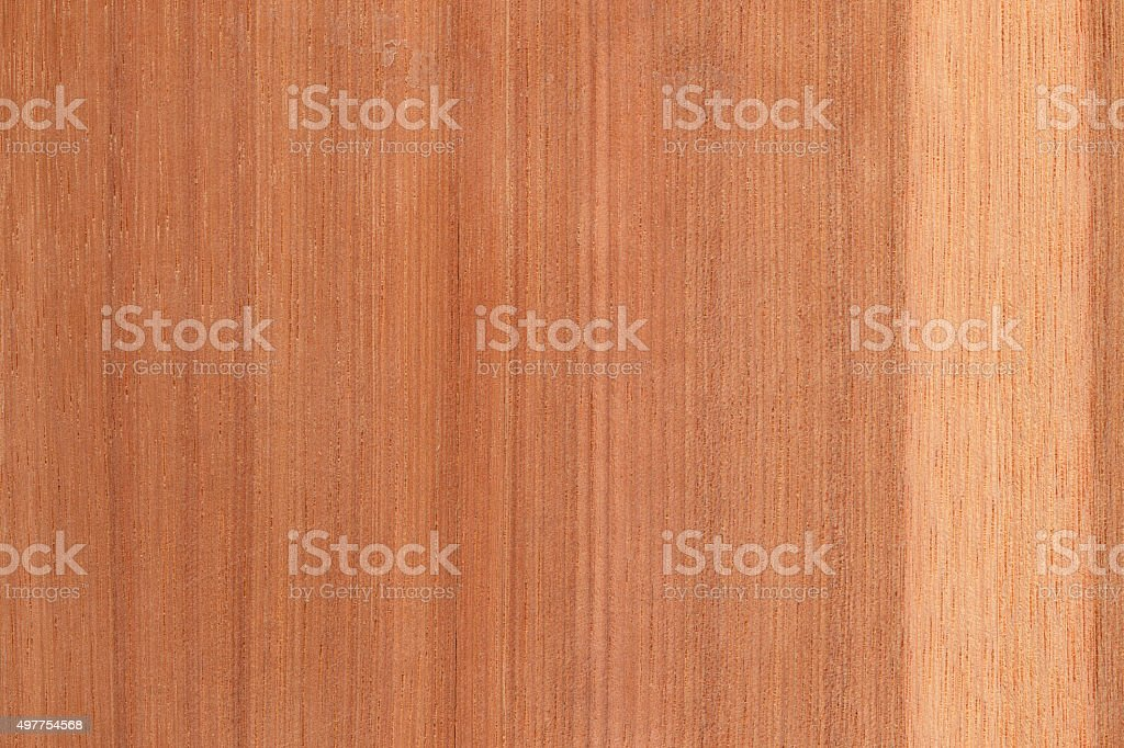 Natural color hickory wood stock photo