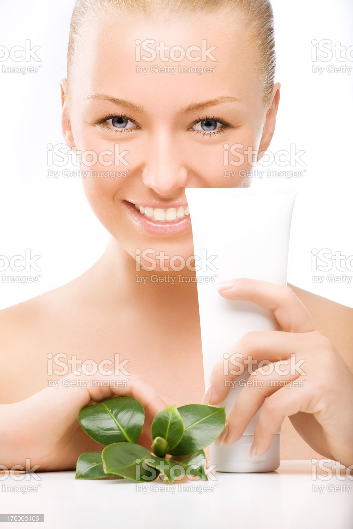natural cosmetics royalty-free stock photo