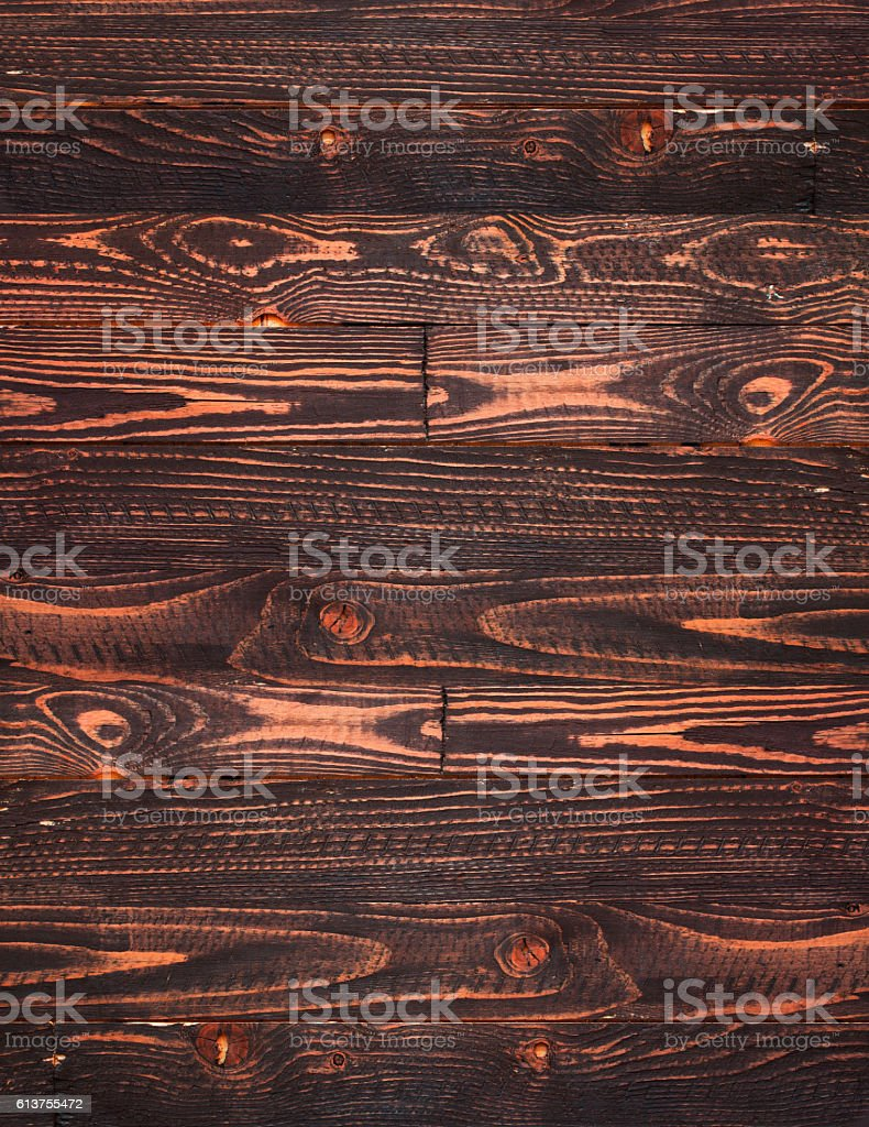 Natural Dark Wooden background. Old dirty wood stock photo