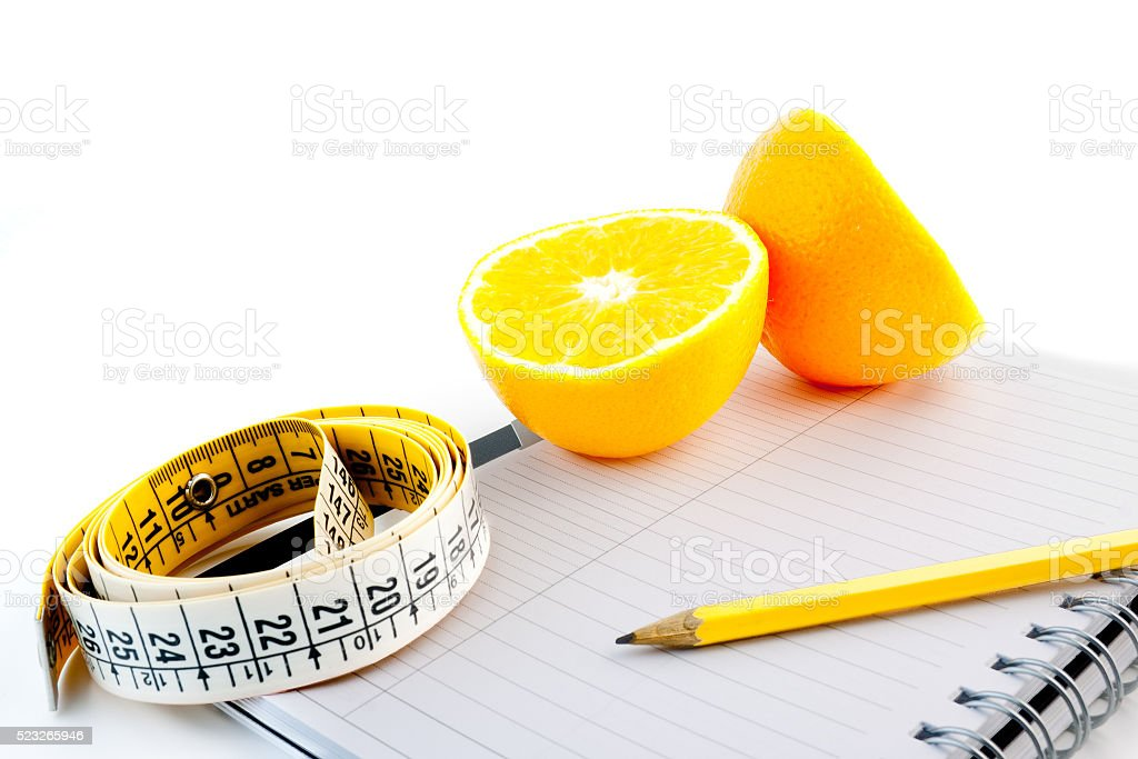 natural diet planning stock photo
