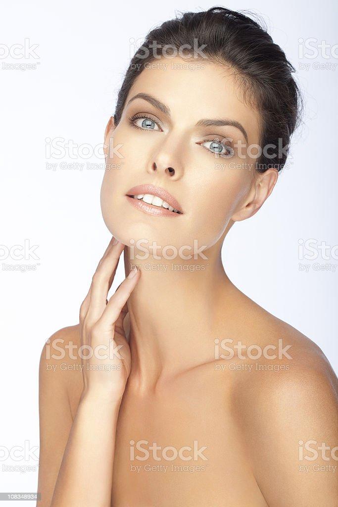 Natural Fashion Beauty royalty-free stock photo