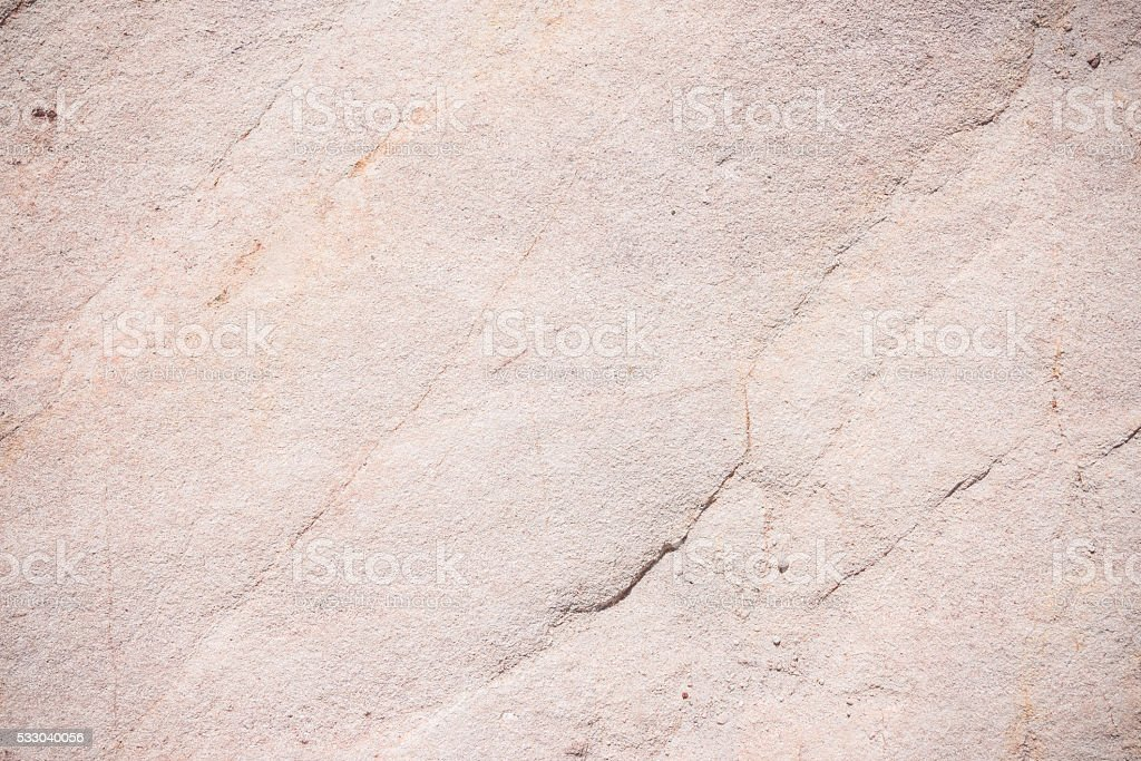 Natural fractured sedimentary rock background stock photo