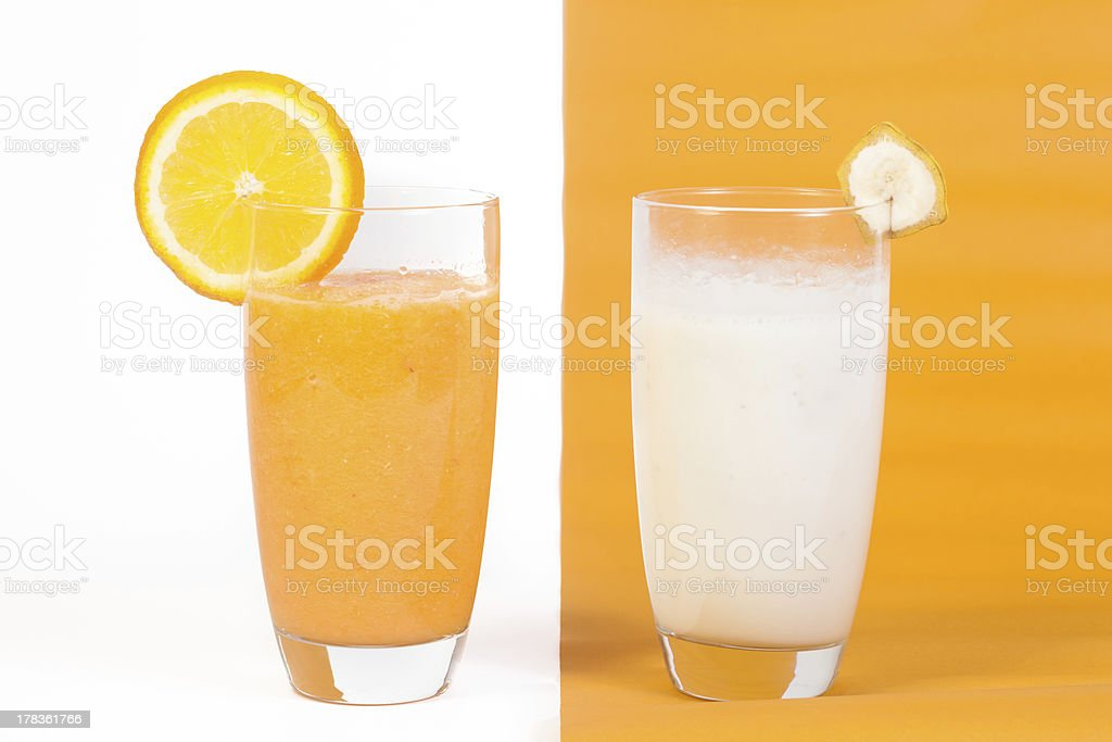 Natural Fruit Juices royalty-free stock photo