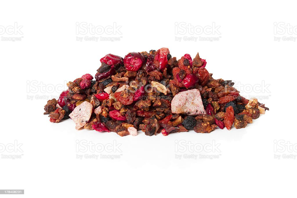 Natural Fruit Tea stock photo