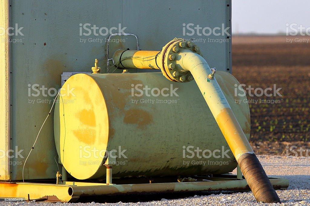 Natural Gas Distribution stock photo