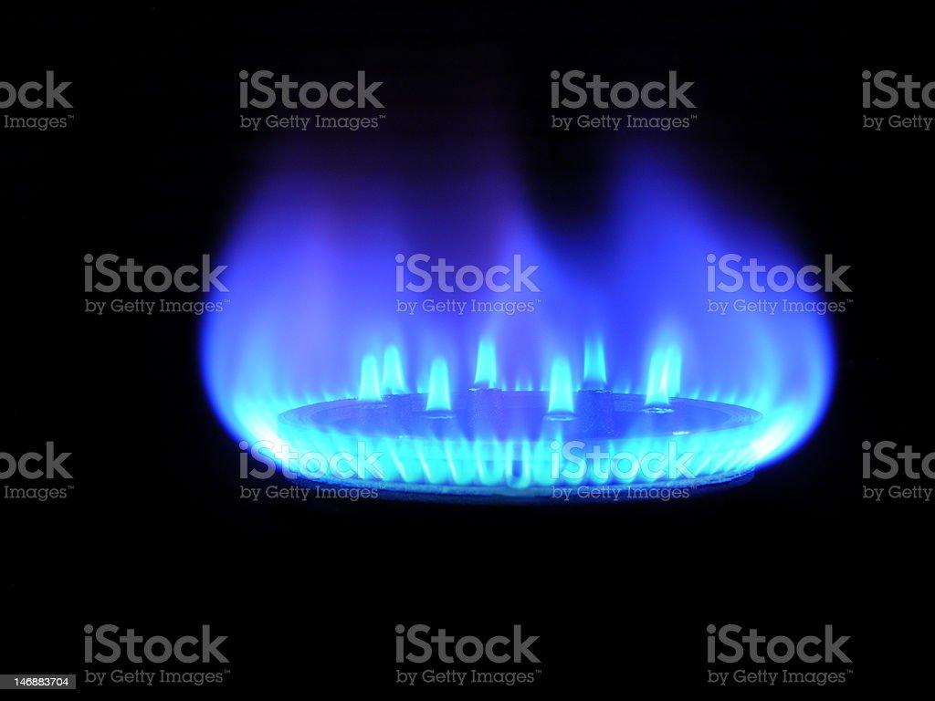 Natural gas royalty-free stock photo