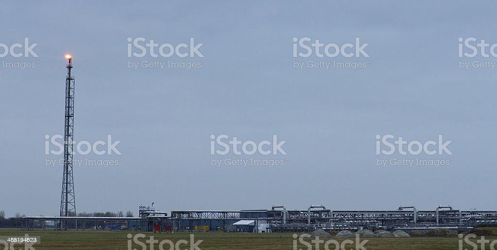Natural Gas Storage stock photo