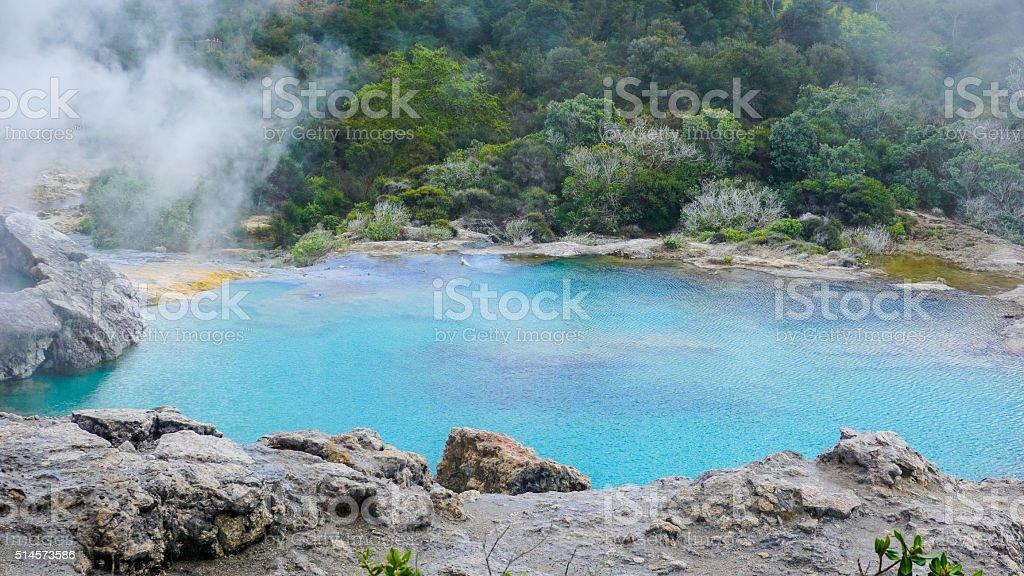 Natural Geyser stock photo