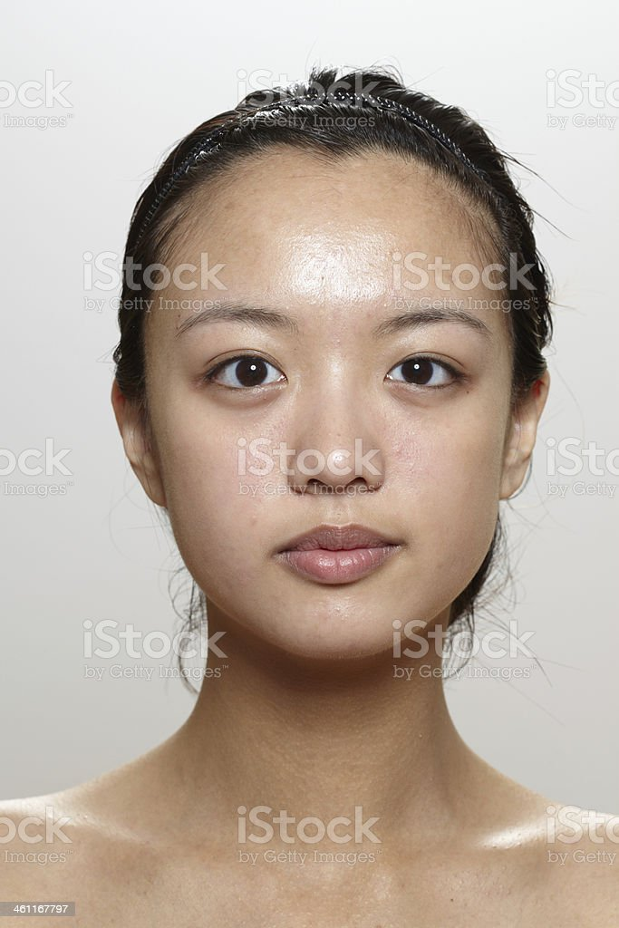 Natural Girl stock photo