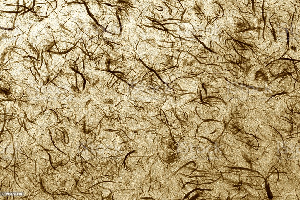 Natural handmade paper texture brown royalty-free stock photo