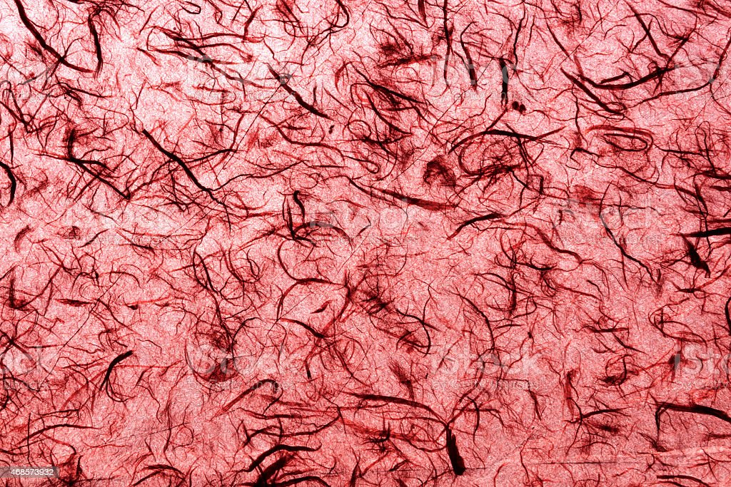 Natural handmade paper texture red closeup royalty-free stock photo