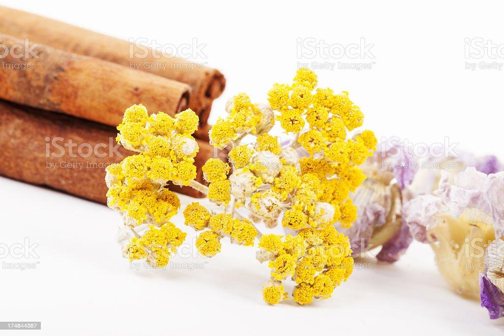 Natural herbal spa stock photo