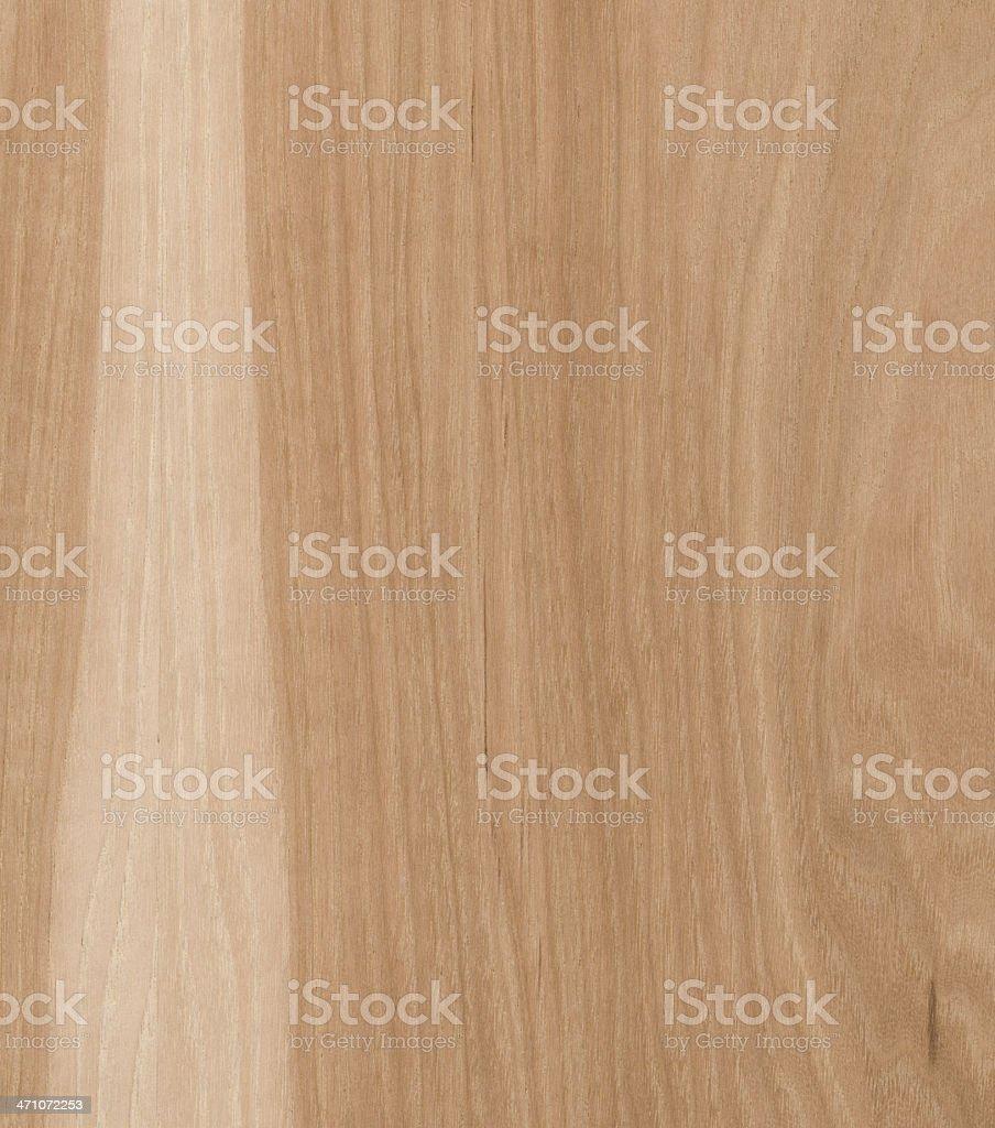 natural Hickory wood texture stock photo