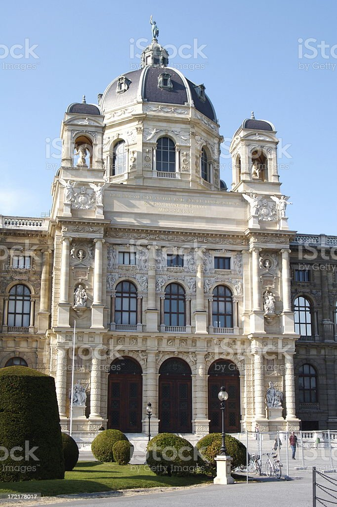 Natural History Museum in Vienna Austria royalty-free stock photo