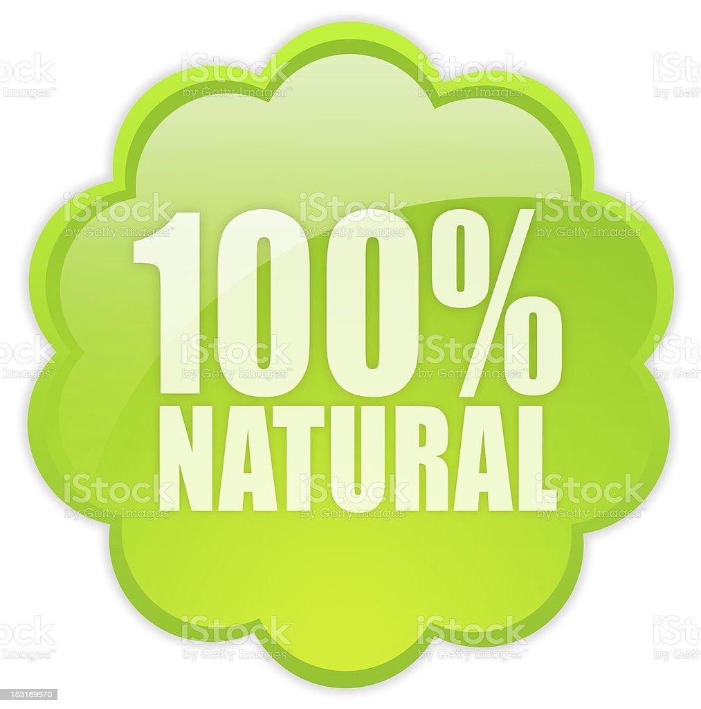 Natural icon royalty-free stock photo