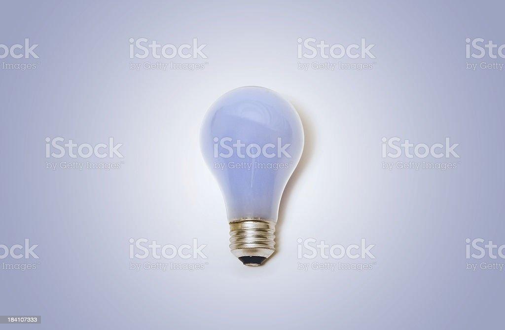 Natural Light Bulb stock photo